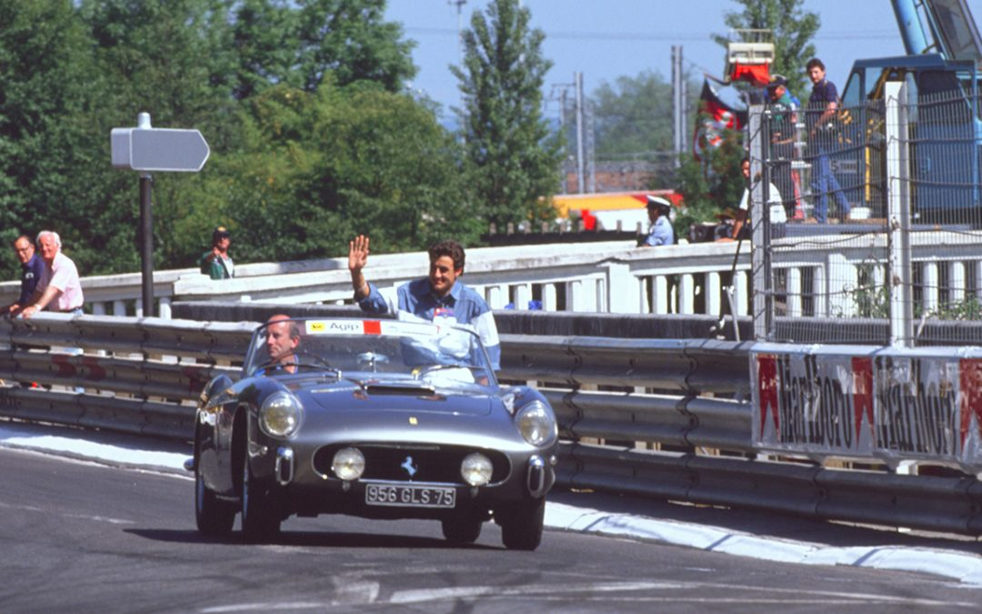1990.06 – Grand Prix of Pau F3000 with Jean Alesi
