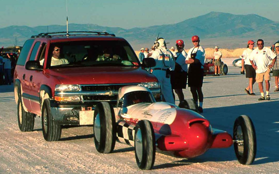 2000.08 – Bonneville, Tanis Hammond ready to go