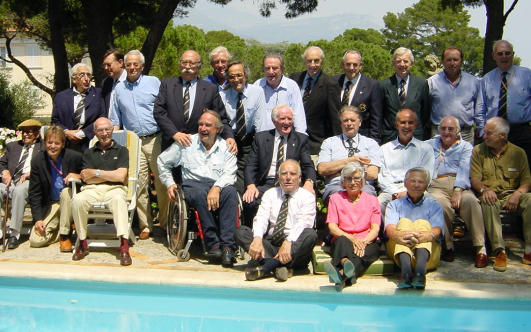 2001.05.25 - Meeting of the Club des Anciens Pilotes de Grand Prix at Adrien Maeght's in Saint Paul de Vence