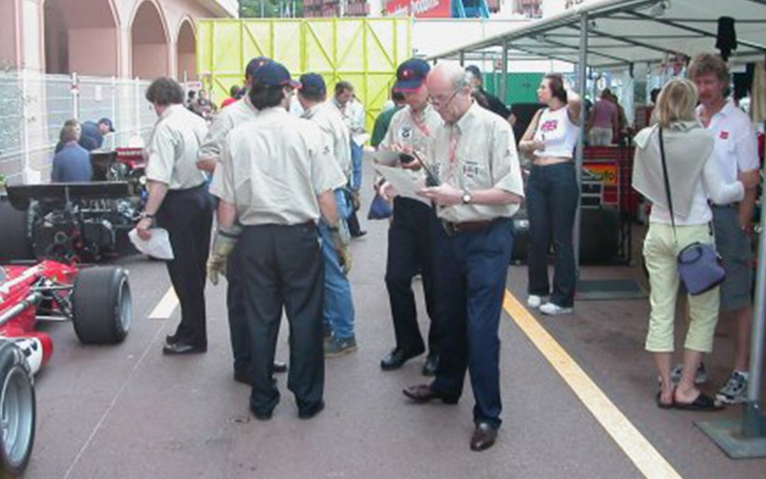 2002.05.19 - In the paddock of the Monaco Historic Grand Prix
