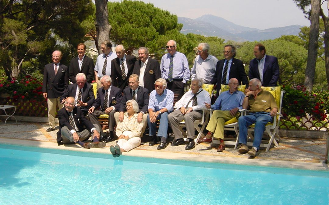 2003.05.30 – Meeting of the Club des Anciens Pilotes de Grand Prix at Adrien Maeght's estate in Saint Paul de Vence