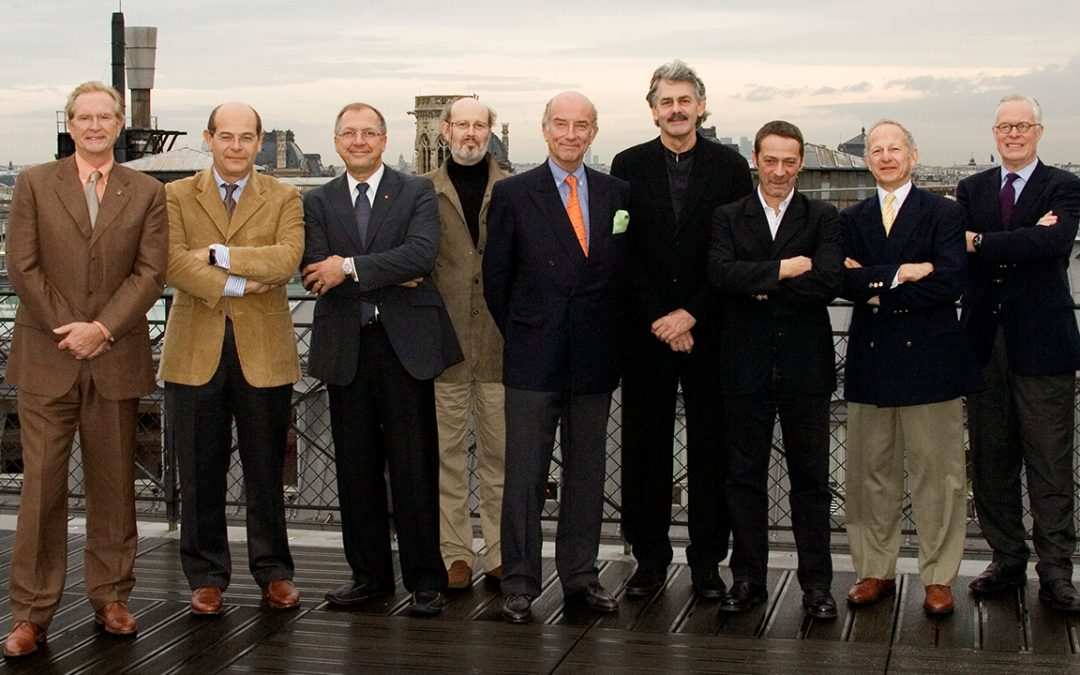 2006.11.24 - The Louis Vuitton Classic Best of the Best 'Concept Award' jury in Paris with, from left to right: Harm Lagaaij, Lorenzo Ramaciotti, Stewart Reed, Serge Bellu, yours truly, Gordon Murray, Xavier Dixsaut, Sam Mann et Carl-Gustav Magnusson
