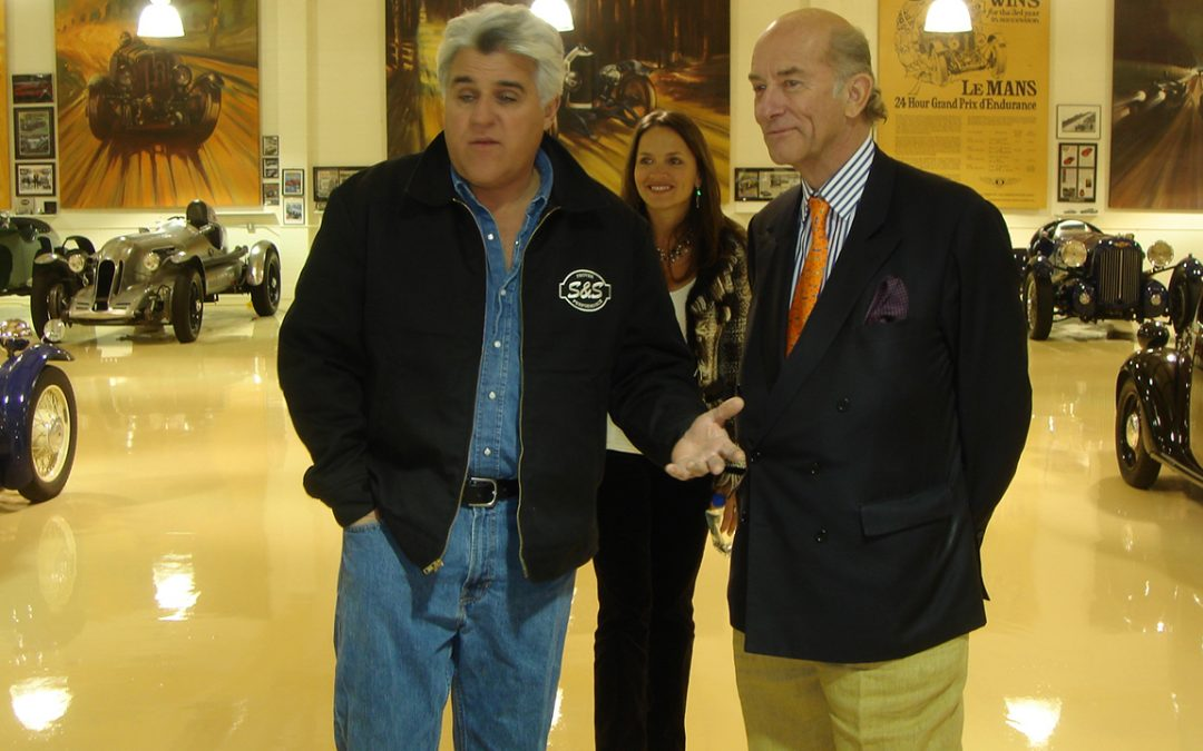 2007.01.18 - Visit of the extraordinary collection of Jay Leno in Los Angeles