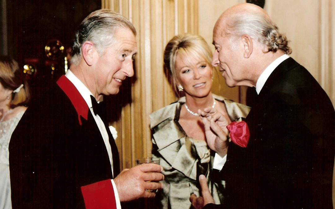 2007.06.27 – Conversation about … cheeses with HRH Prince Charles at Windsor Castle