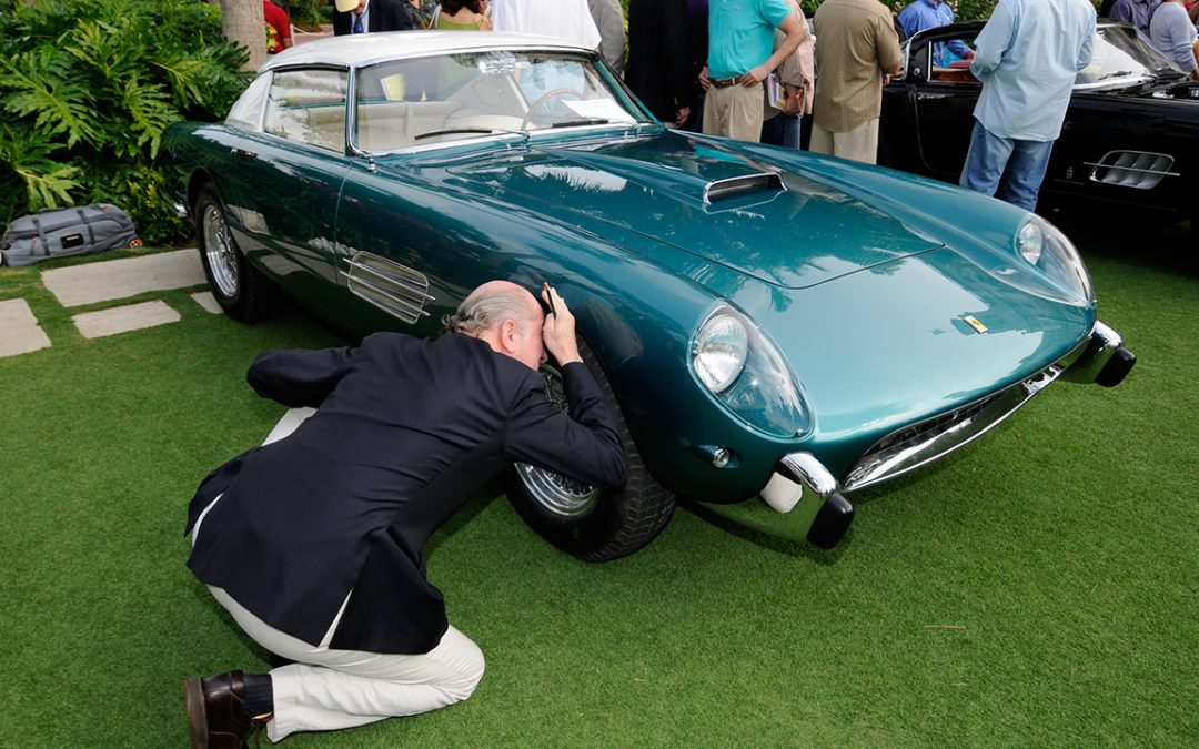 2008.01.26 – Judge at the Concours Cavallino Classic