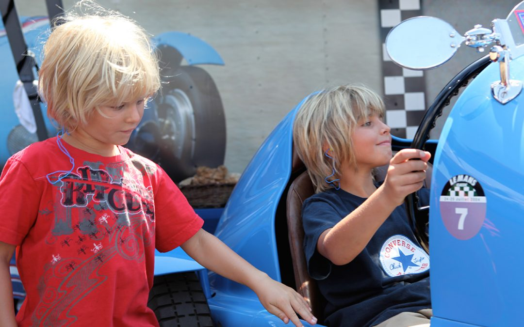 2009.08.15 - Dreams of children, Alex and Eric at Laguna Seca…