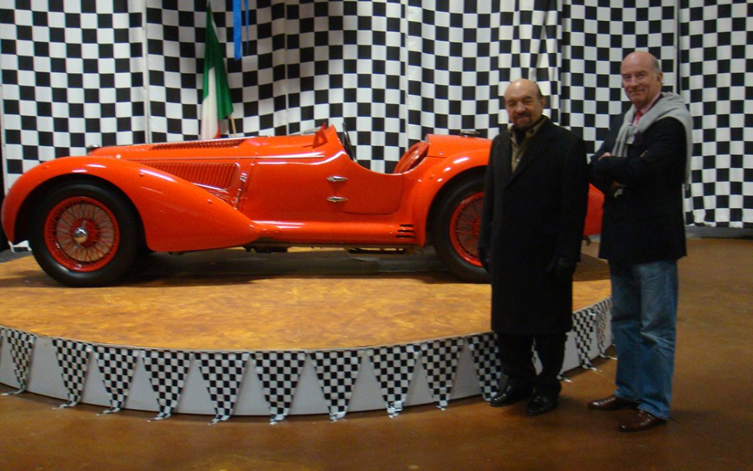 2010.01.18 - Fred Simeone at his Simeone Foundation Automotive Museum