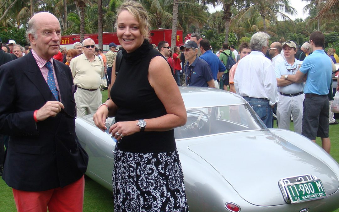 2010 – Cavallino Classic in Palm Beach with Sandra Button, President of Pebble Beach Concours d'Elegance