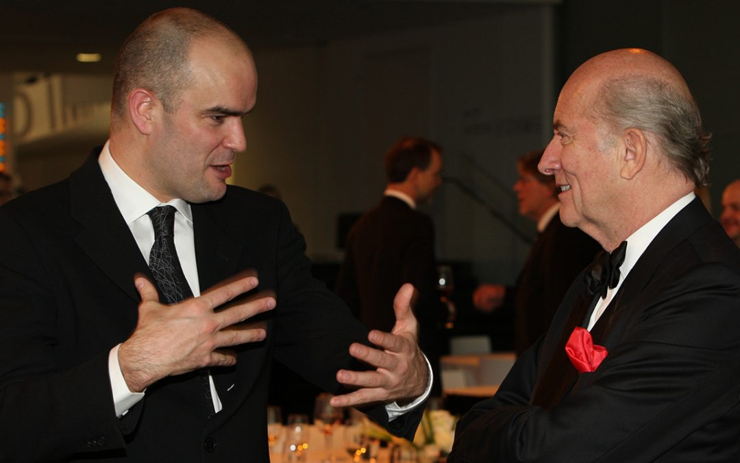 2010.02.28 – Louis Vuitton Classic Awards dinner at the BMW Museum with Lowie Vermeer
