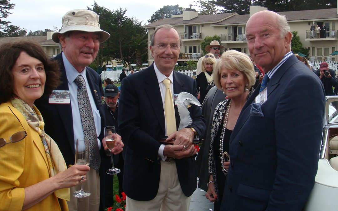 2010.08.15 – With Sherry and Ed Gilbertson, and Dot and Jim Patterson at Pebble Beach