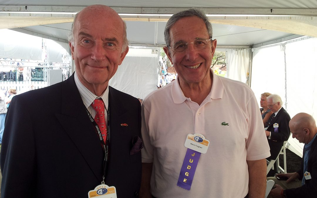 2012.03.11 - Amelia Island Concours d'Elegance, with Ing. Mauro Forghieri