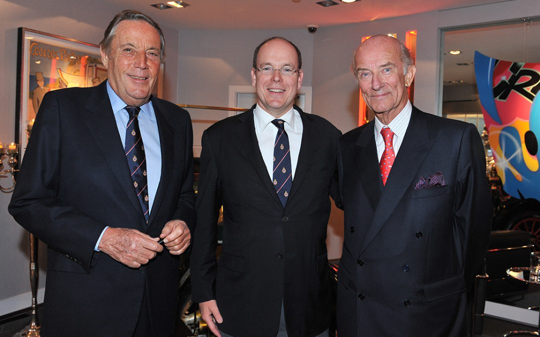 2012.04.21 – With HSH Prince Albert II and Michel Boeri, President of the Automobile Club de Monaco