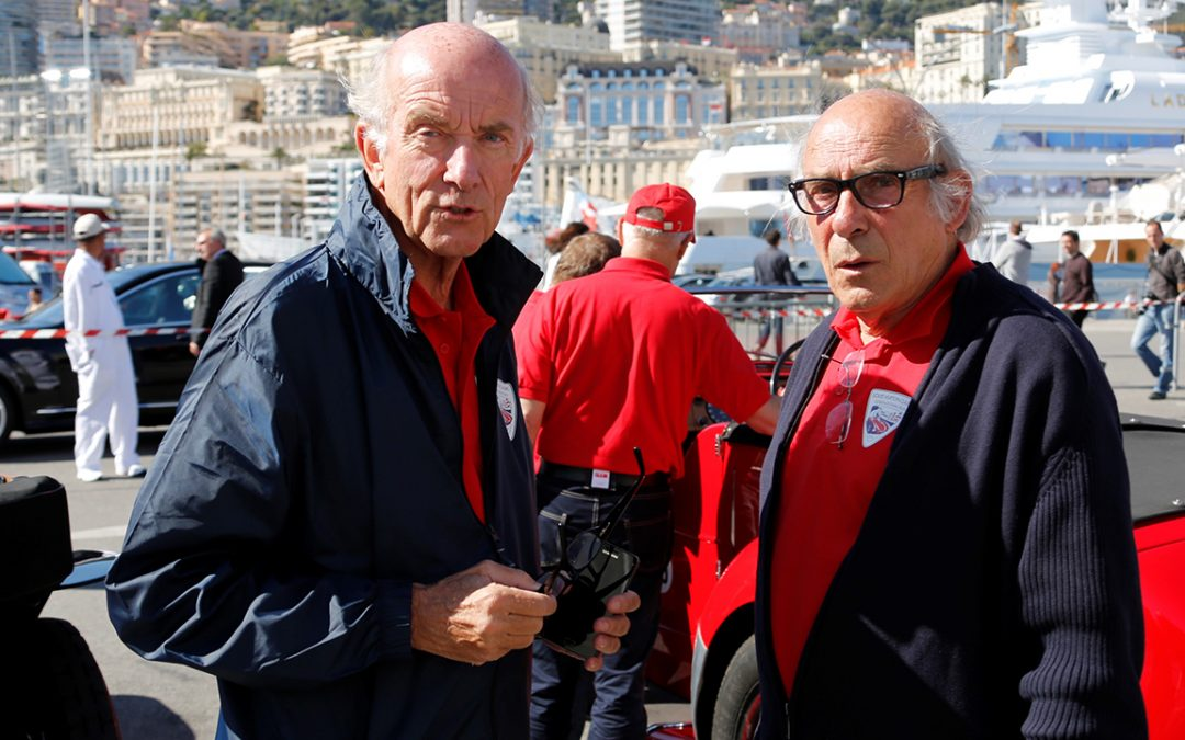 2012.04.22 – With René Metge, responsible for the road book of the Louis Vuitton Classic Serenissima Run
