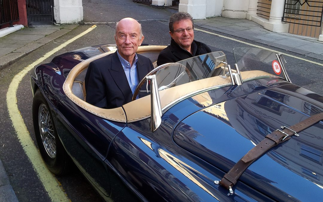 2012.10.27 - Reunion with 0064M, the Ferrari 166MM barchetta I purchased for Jacques Swaters back in 1966 when I was working with him at Garage Francorchamps, now in the enthusiastic custody of a new owner