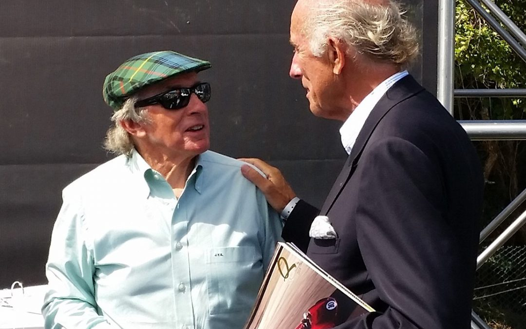 2014.08.15 - Always an honour and a pleasure to talk to Sir Jackie Stewart
