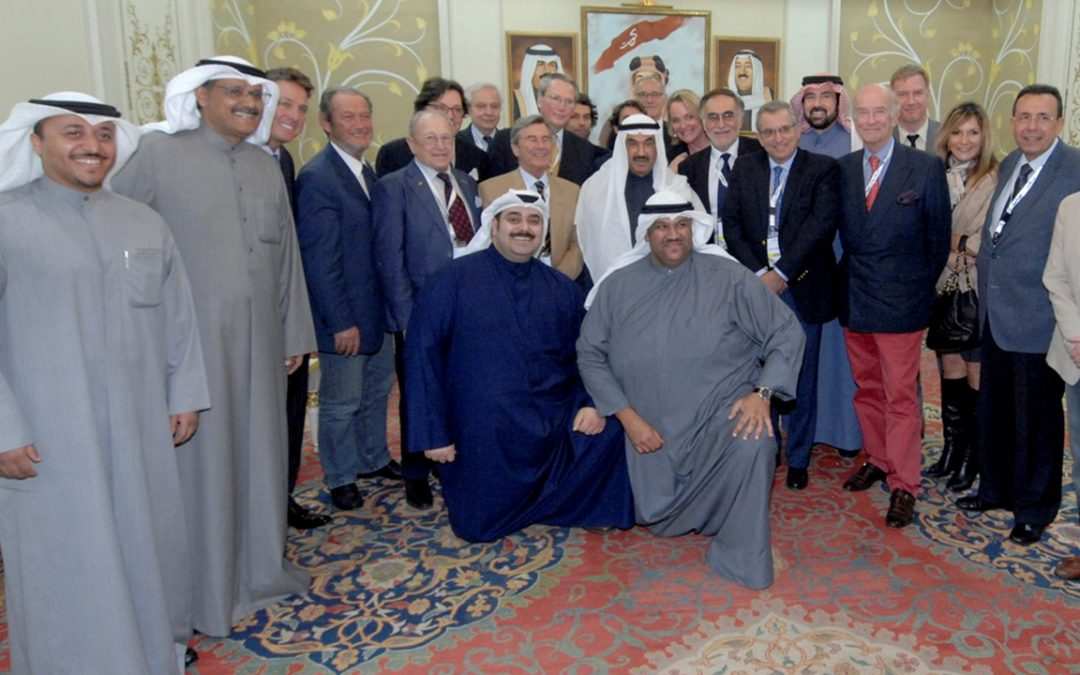 2015.02.12 – Reception at the Prince Sheikh Nasser Al-Ahmad Al-Jabir Al-Saba 's Palace on the occasion of the Kuwait Concours d'Elegance