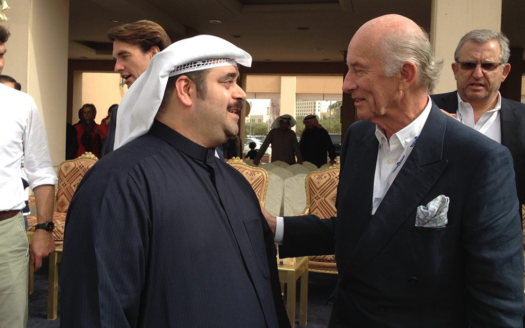 2015.02.14 - With Zakaria Dashti, the organiser of the Kuwait Concours d'Elegance