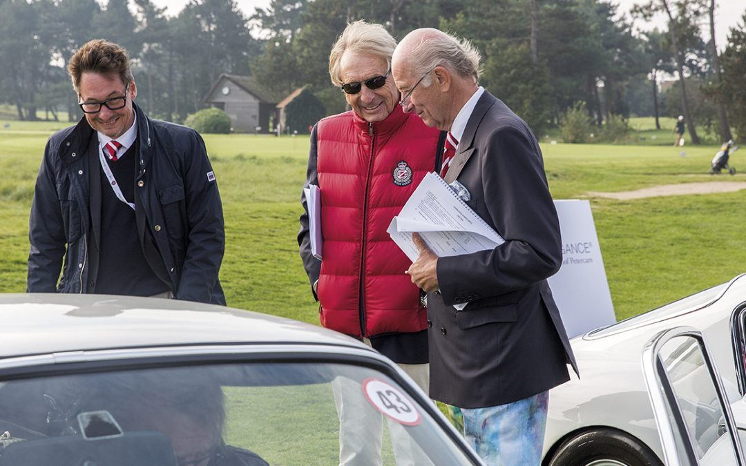 2015.10.11 – Judging at the Zoute Concours d'Elegance in the great company of Derek Bell and Manfred Grunert