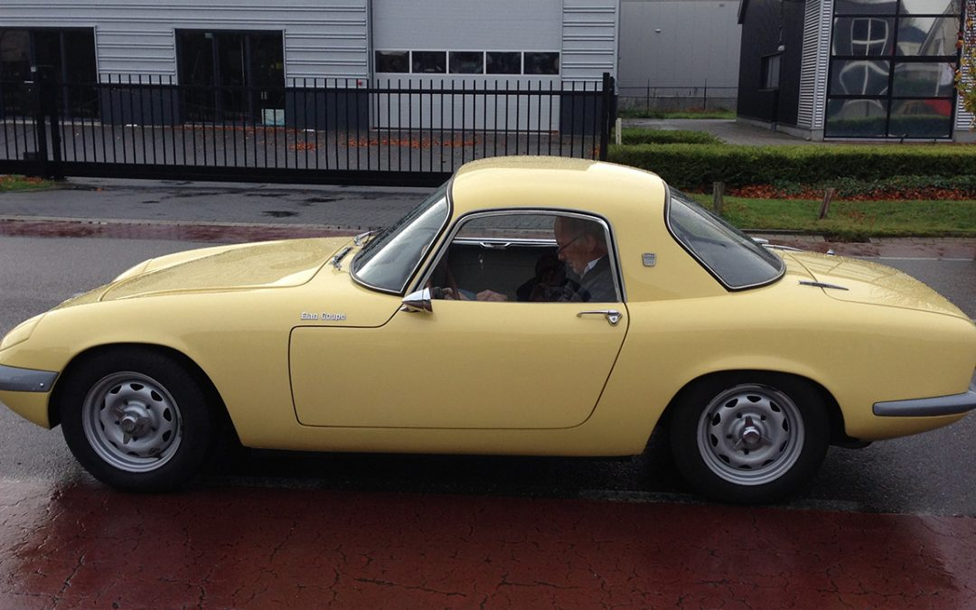 2015.11.15 - At the wheel of a Lotus Elan S3 which I still regret not to have purchased…