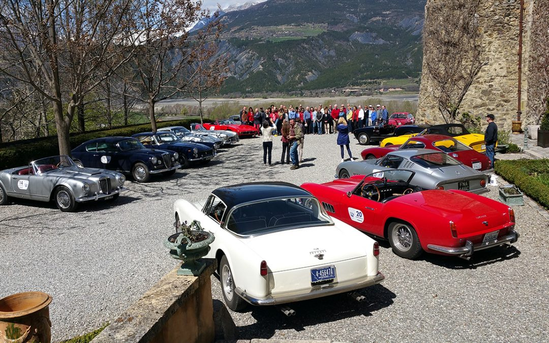 2016.04.14 – A gathering of friends participating in the Spirit of Yves Classic Run organised in memory of Louis Vuitton's deceased CEO, Yves Carcelle, who was a great supporter of motoring events
