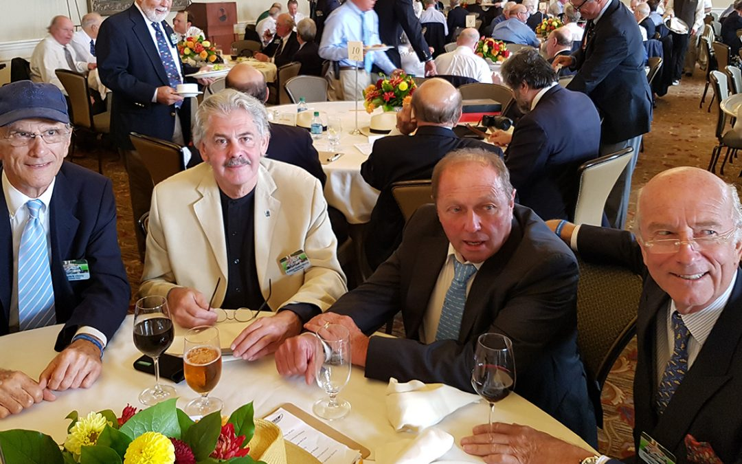 2016.08.21 – In the judges room at Pebble Beach, in the brilliant company of Wayne Cherry, Professor Gordon Murray and Jochen Mass
