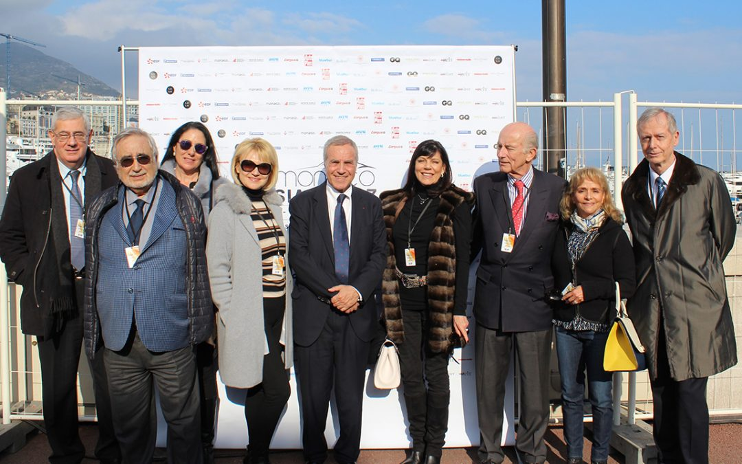 2017.02.17 - Visit of the Salon de l'Automobile de Monaco in company of Thierry Hesse, its founder and organiser