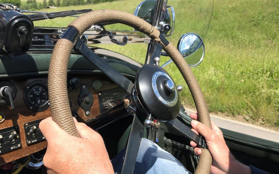 2017.06.10 – On the superb little roads of the Bern Canton, at the wheel of a 6,5 Litre Bentley generously loaned by its owner in replacement of my ailing 3 Litre