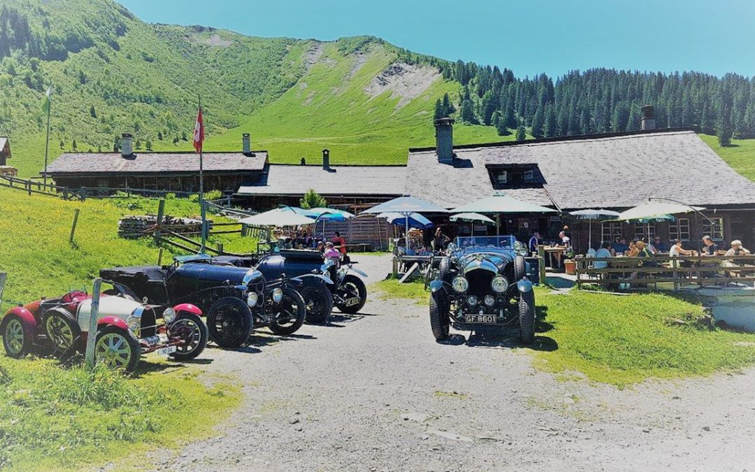 2017.06.11 - Mountain lunch at the Refuge de Taveyanne near Gstaad