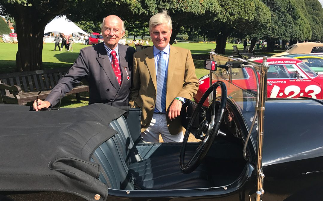 2017.09.01_3 - With Jonathan Connolly who supplied the leather for the Bentley's upholstery as his ancestors did in 1926