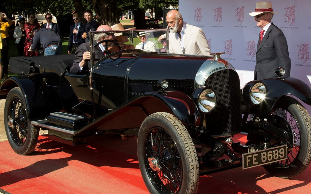 2017.09.01_4 - Being introduced to HRH the Prince Michael of Kent, a connoisseur, at the Concours of Elegance held at Hampton Court