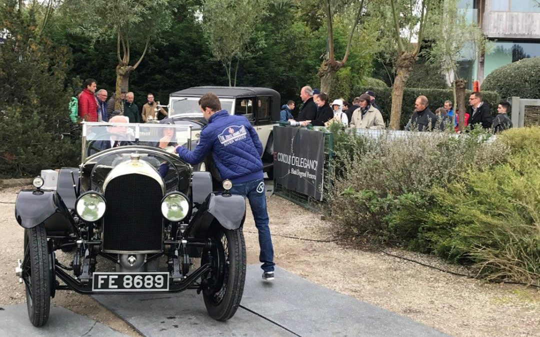 2017.10.07_1 - Checking in at the Zoute Concours d'Elegance