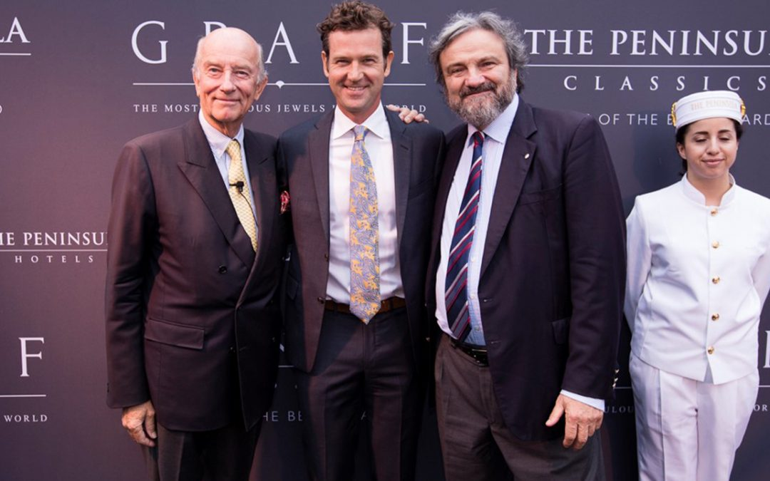 2017.08.15_1 - Welcoming to Derek Hill and Adolfo Orsi at the Peninsula Classics Best of the Best Award held at The Quail Lodge in Carmel