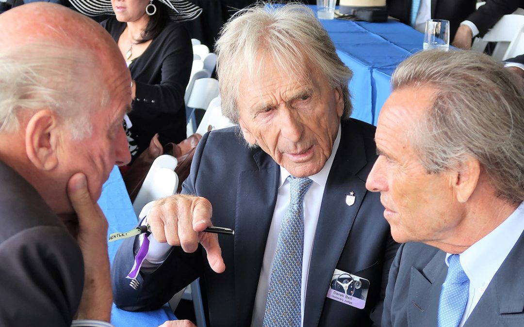 2017.08.20 – Remembering Le Mans victories with Derek Bell and Jacky Ickx during the Pebble Beach Concours d'Elegance