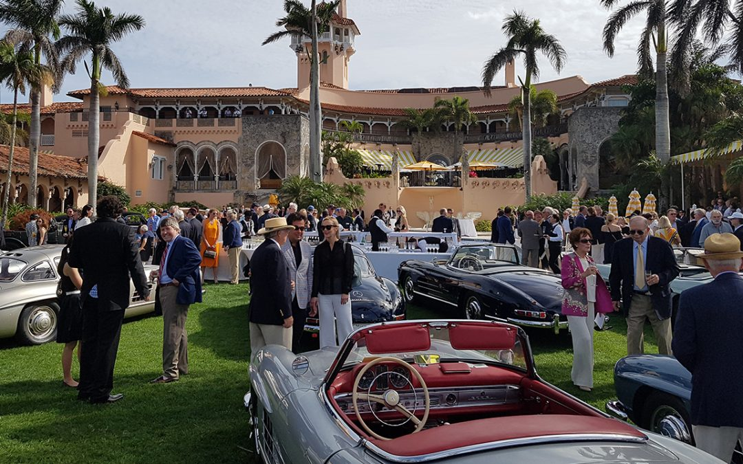 2018.01.28 – Cavallino Classic is followed the next day by a multi marque Concours held at Mar-a-Lago, the Donald Trump residence in Florida