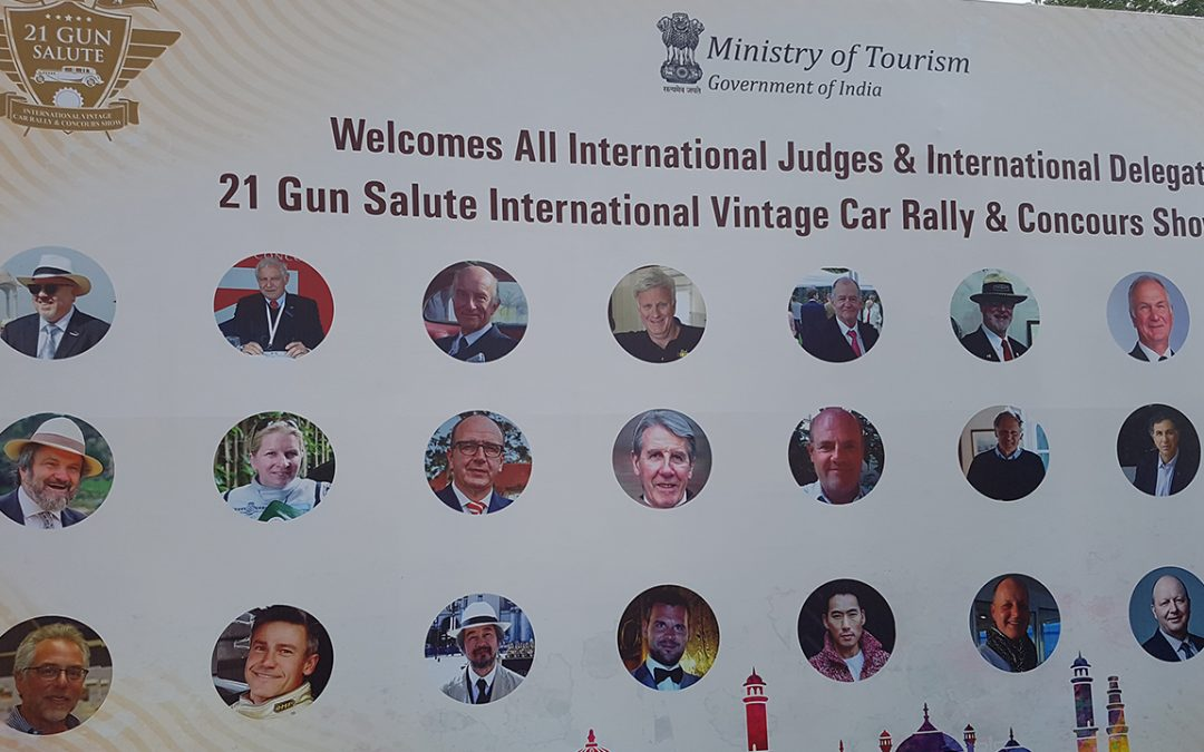2018.02.18_1 - A warm welcome by the indian Ministry of Tourism