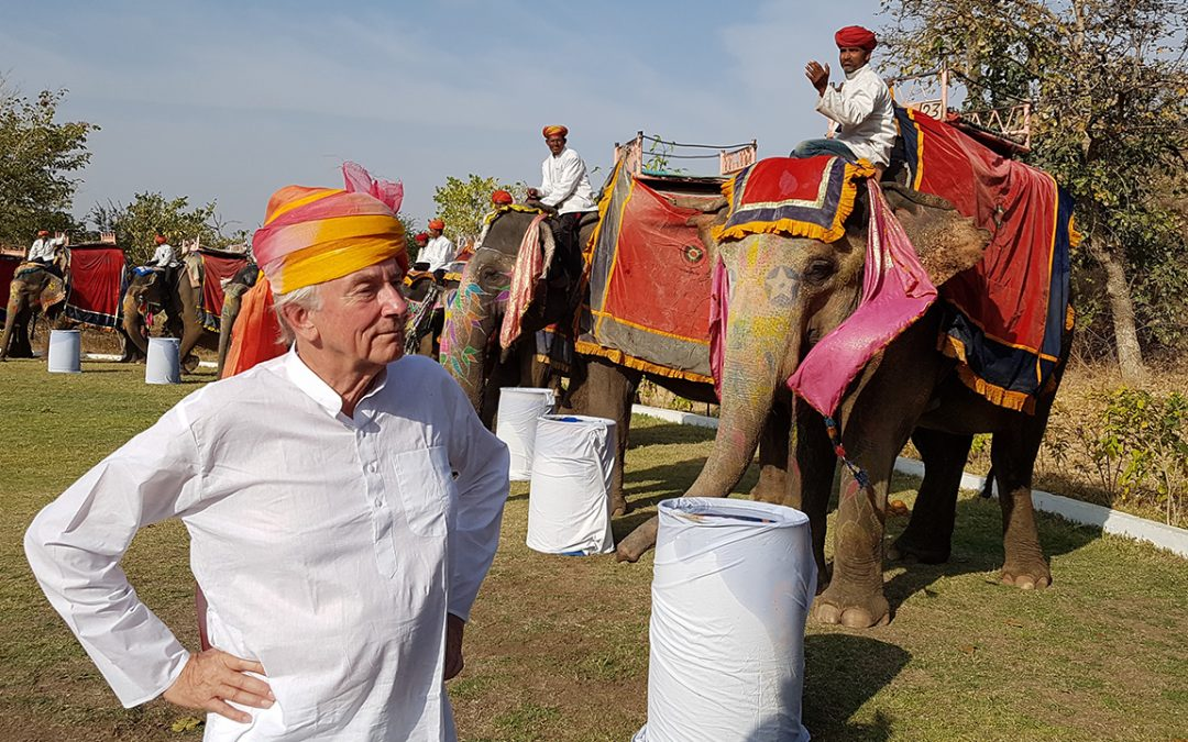 2018.02.19_1 – Attending the Holi ceremony after the Concours; before…